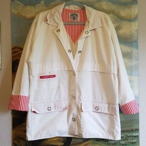 Vintage 80s Cruise Red & White Jacket Sz. Med
